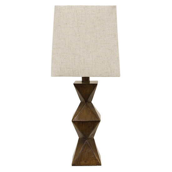 Decor Therapy Knox Stacked Diamond Lamp