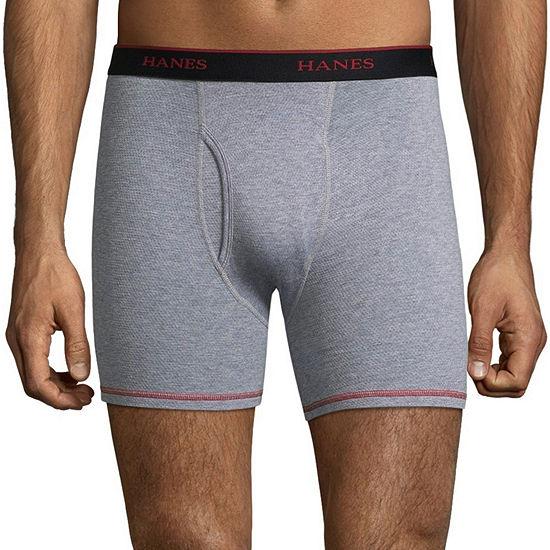 Hanes Cool Comfort 3 + 1 Bonus Pair Boxer Briefs - Men's