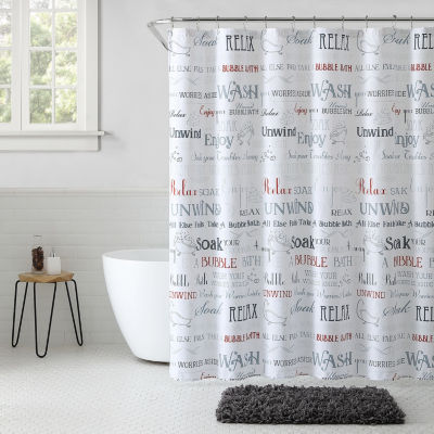 VCNY Country Spa Shower Curtain Set