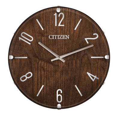 Citizen Gallery Brown Wall Clock-Cc2021