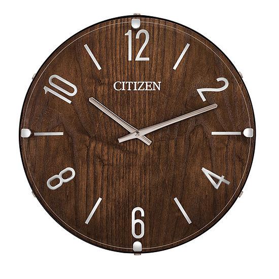 Citizen Gallery Brown Wall Clock-Cc2021