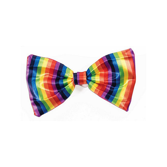 Rainbow Bow Tie Dress Up Accessory
