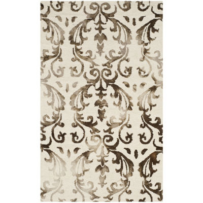 Safavieh Dip Dye Collection Mihail Floral Area Rug