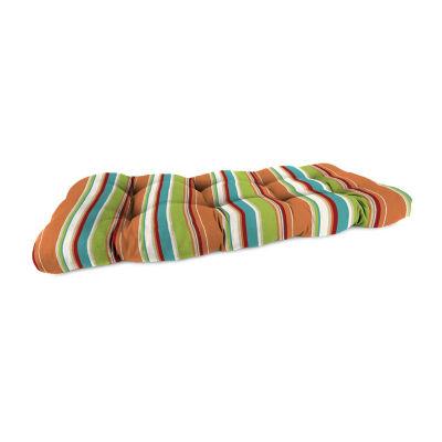 Jordan Manufacturing Wicker Patio Settee Cushion