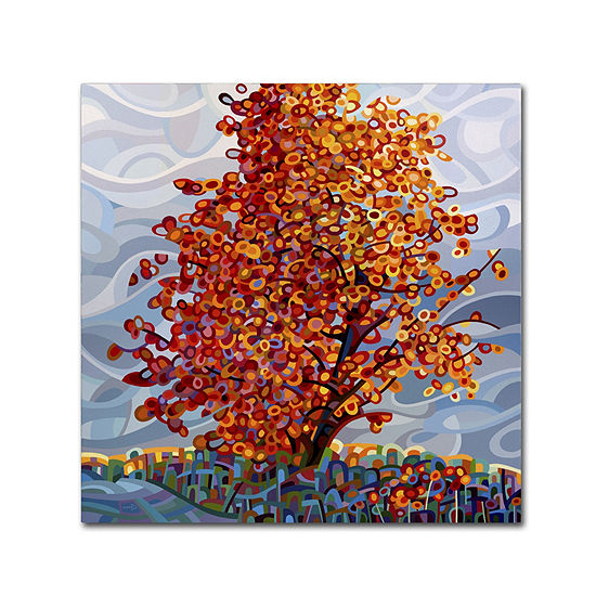 Trademark Fine Art Mandy Budan Stormlight Giclee Canvas Art