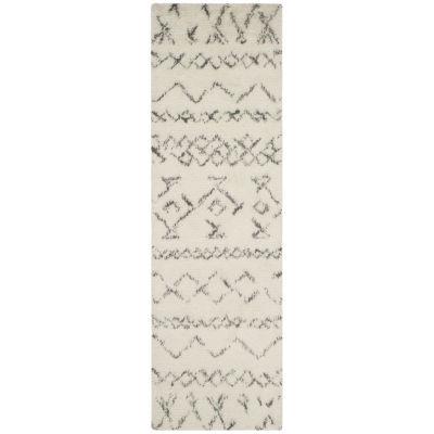 Safavieh Casablanca Collection Evren Geometric Runner Rug
