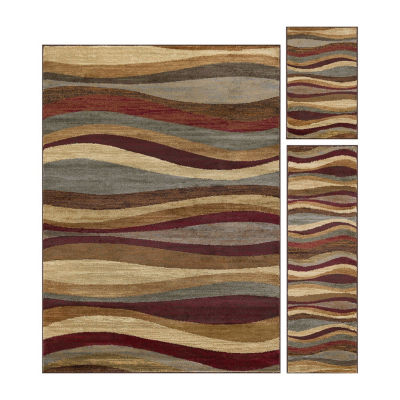 Tayse Elegance Norfolk 3-pc. Rug Set