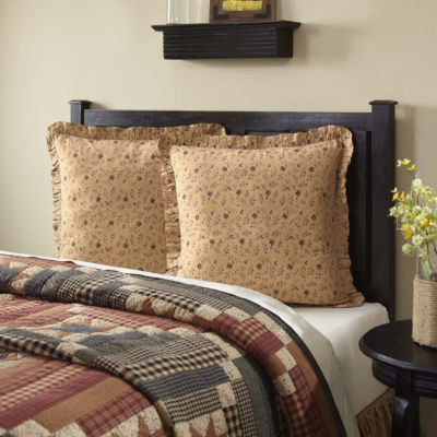VHC Classic Country Primitive Bedding - Maisie Euro Sham