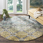 Safavieh Catriona Damask Round Rugs