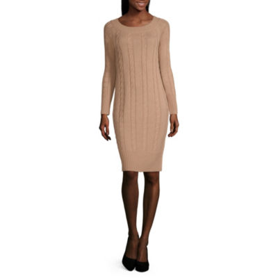 a.n.a Cable Knit Sweater Dress