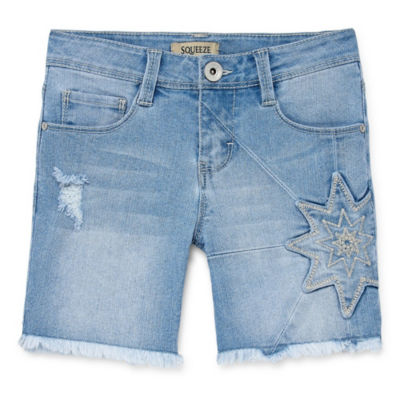 Squeeze Denim Short - Girls' 7-14