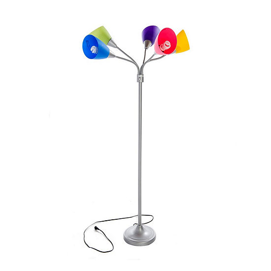 "66"" Multi-Colored Floor Lamp"
