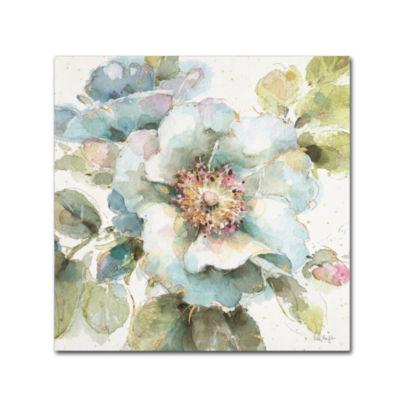 Trademark Fine Art Lisa Audit Country Bloom VII Giclee Canvas Art
