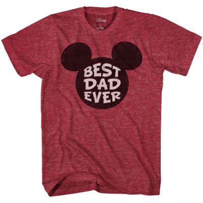 Mickey Best Dad Ever Graphic Tee