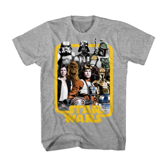Star Wars Fame Frame Graphic Tee