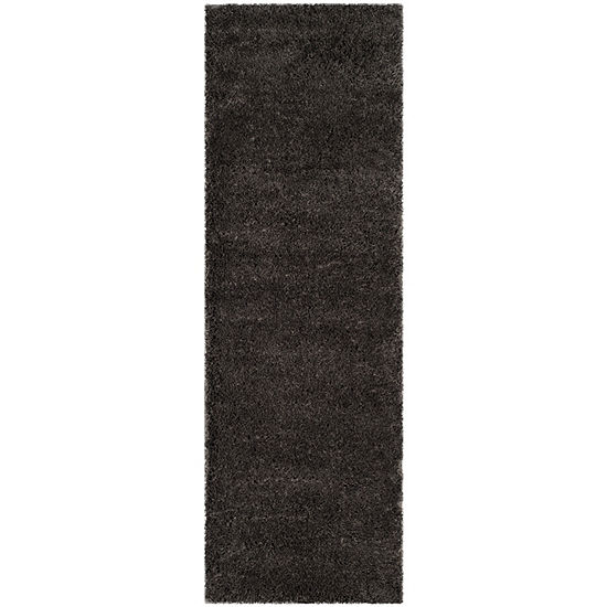Safavieh Indie Shag Collection Alexis Solid Runner Rug