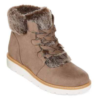 a.n.a Womens Andes Booties Lace-up