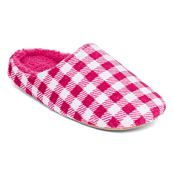 City Streets Womens Slip-On Slippers