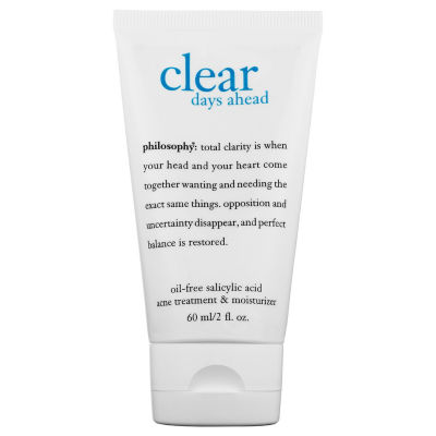 philosophy Clear Days Ahead™ Oil-Free Salicylic Acid Acne Treatment & Moisturizer
