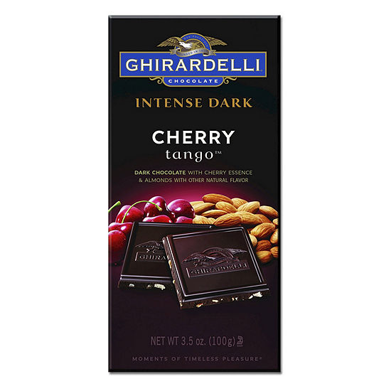 Ghirardelli Intense Dark Chocolate Cherry Tango 35 Oz 12 Count