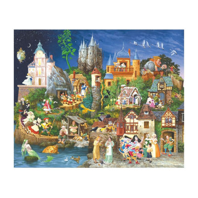 SunsOut Fairy Tales Jigsaw Puzzle: 1500 Pcs