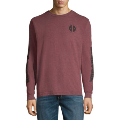 Deadpool Long Sleeve Graphic Tee
