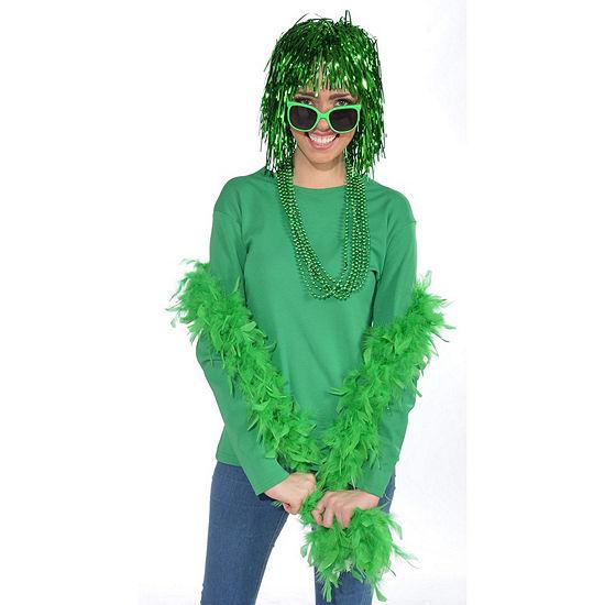 Green Boa Dress Up Accessory