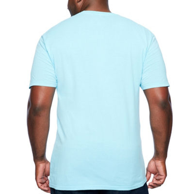 Short Sleeve Crew Neck T-Shirt-Big and Tall