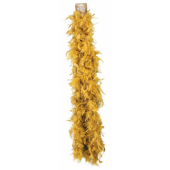 Shop By Color - Gold: Gold Boa Dress Up Accessory