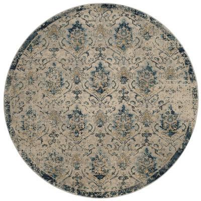 Safavieh Luis Geometric Round Rugs