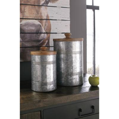 Signature Design By Ashley® Set of 2 Divakar Jars