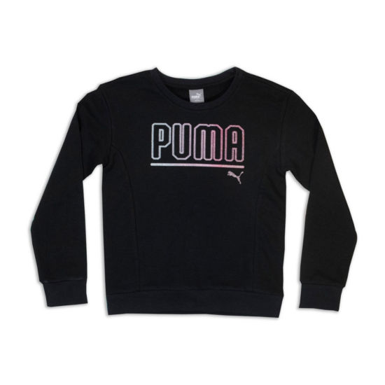 Puma Logo Sweatshirt - Girls Pre-School 4-6X