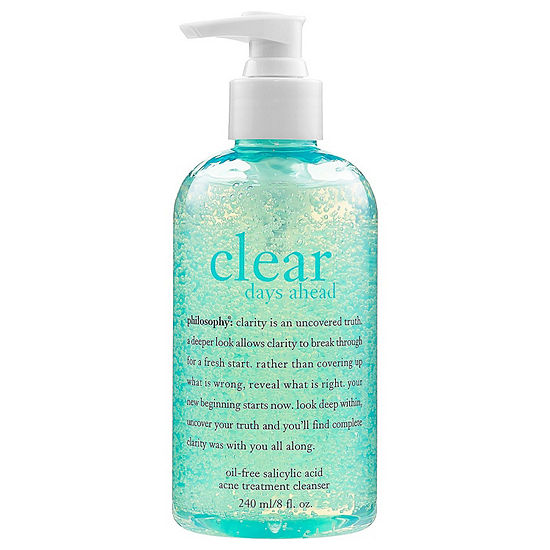 Philosophy Clear Days Ahead Oil Free Salicylic Acid Acne Treatment Cleanser