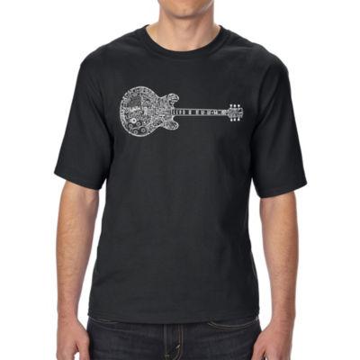 Los Angeles Pop Art Boy's Raglan Baseball Word Art T-shirt - Cat Paw