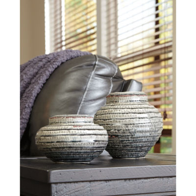 Signature Design By Ashley® Set of 2 Devonee Jars
