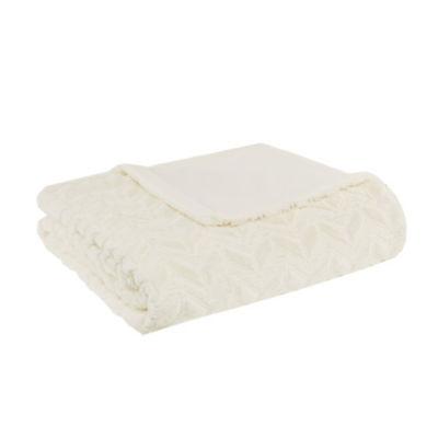 Intelligent Design Laila Oversized Ultra Soft Plush Quilted Blanket