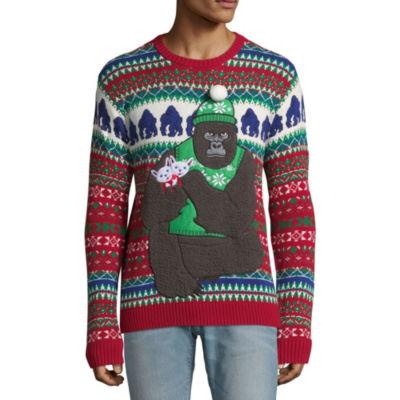 Ugly Christmas Gorilla Sweater