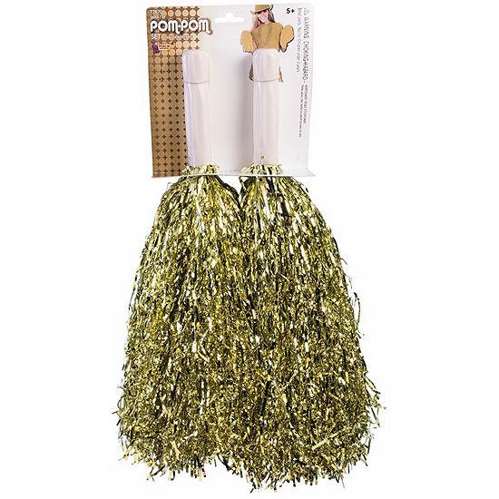 Gold Pom-Pom Set Dress Up Accessory