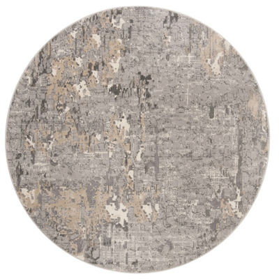 Safavieh Meadow Collection Mattie Abstract Round Area Rug