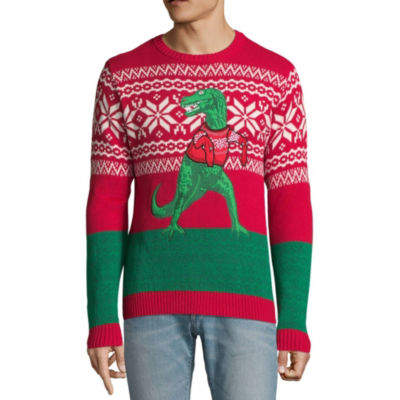 Ugly Christmas T-Rex Sweater