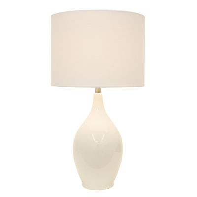 Decor Therapy Anabelle Ceramic Table Lamp