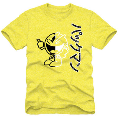 Pacman Split Screen Graphic Tee