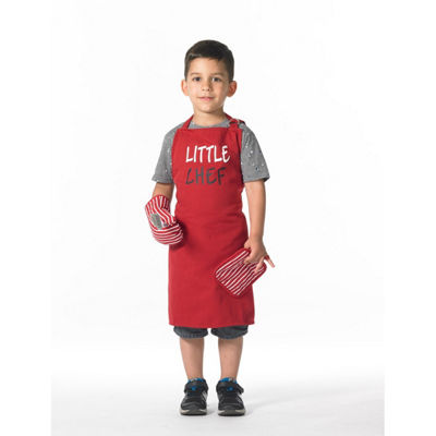 Popular Bath 3pc Little Chef Apron Set Apron
