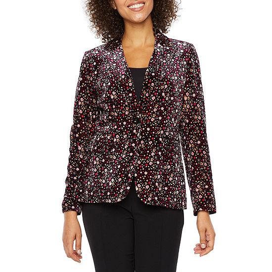 Chelsea Rose Velvet Suit Jacket