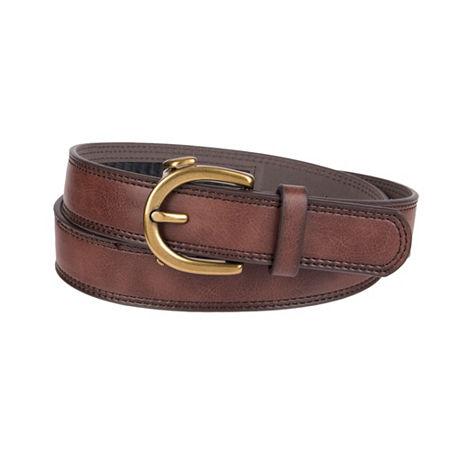 Exact Fit Track Lock Casual Women's Belt, Medium , Brown