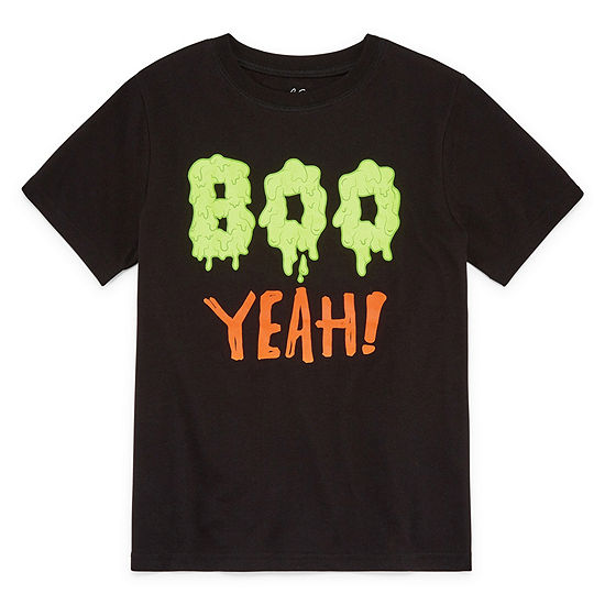 City Streets Boys Crew Neck Short Sleeve Graphic T Shirt Preschool Big Kid