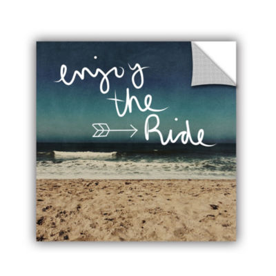 Enjoy The Ride Removable Wall Decal