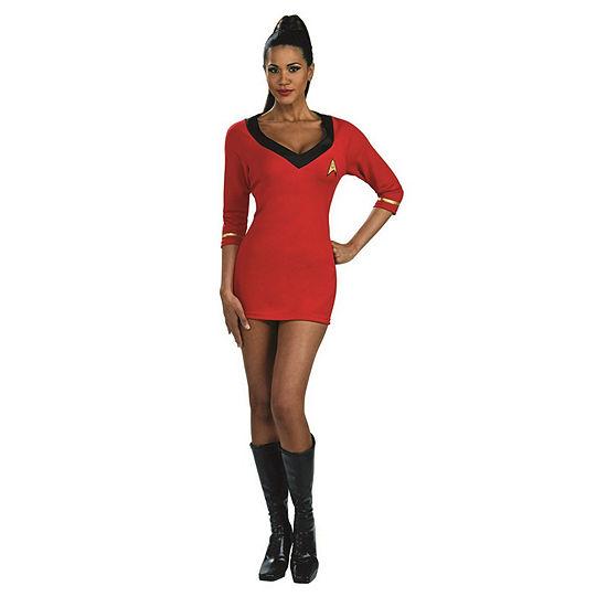 Star Trek Secret Wishes Red Dress Adult Dress Up Costume