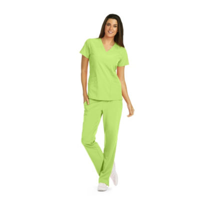 Barco One Womens V Neck Scrub Top