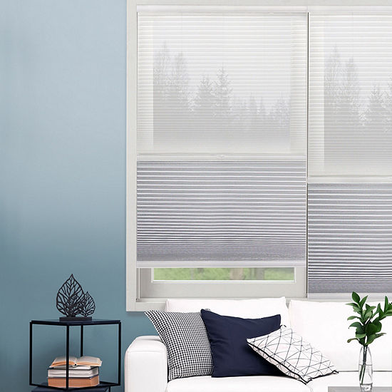 JCPenney Home Day And Night Cut-to-Width Cordless Blackout Cellular Shade